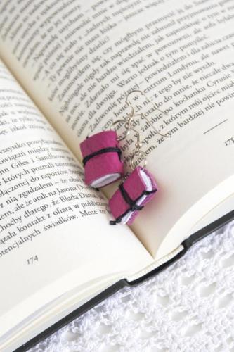 Kolczyki książkowe